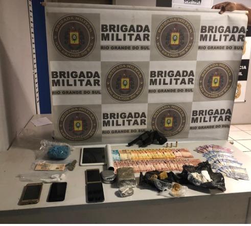 Criminoso é baleado após confronto com a BM em Tramandaí