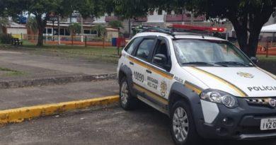 Criminoso com extensa ficha criminal é preso ao tentar matar mulher em Torres