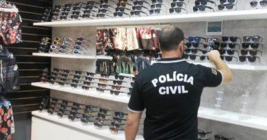 Operação apreende R$ 240 mil em óculos falsificados em Capão da Canoa