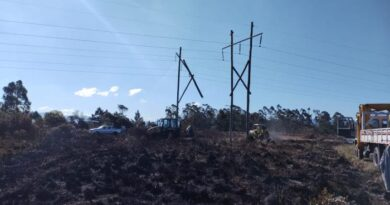 Incêndio deixa 50 mil clientes sem energia elétrica no Litoral Norte