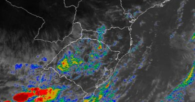 MetSul não descarta riscos de microexplosões atmosféricas e até tornados durante o final de semana