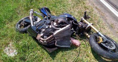 Motociclista fica em estado grave ao se envolver em acidente em Osório
