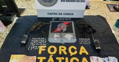Presos traficantes que ameaçavam moradores em Capão da Canoa