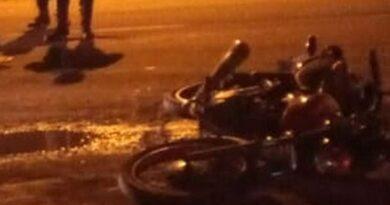Colisão entre motos deixa um morto na Avenida Paraguassú