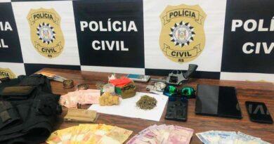 Presos sete suspeitos de planejar a morte de Prefeito e policiais no Litoral Gaúcho