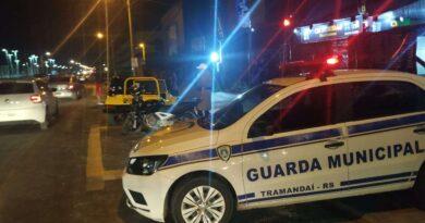 Agressor de mulher tenta fugir e provoca acidente em Tramandaí
