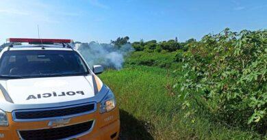 Corpo de homem é queimado às margens de rodovia em Tramandaí