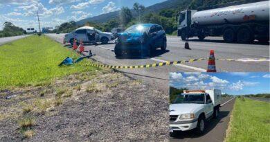Ex-vereadora morre em acidente na freeway em Osório