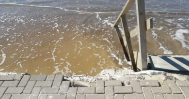 Vento forte e ondas de até 4 metros: Marinha emite alerta para o Litoral
