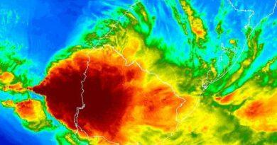 Ciclone extratropical traz ventania e agitação marítima para o Litoral