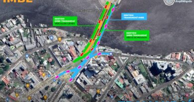 Atenção: pista central da Ponte Giuseppe Garibaldi será interditada pelo DAER