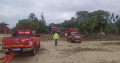Seguem as buscas a pescador que desapareceu na Lagoa dos Barros